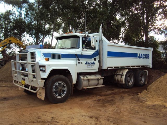 Trucks 12 tonne with Dog Trailer